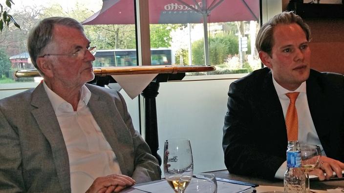 Besuch des Bezirksvorsitzenden Steffen Kanitz MdB bei der MIT Duisburg