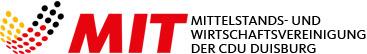 Logo der Mittelstands- und Wirtschaftsunion der CDU Duisburg