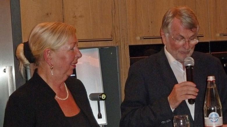 Dagmar Bungert und Benno Lensdorf