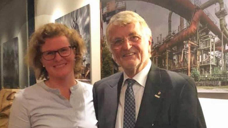 Silke Jachinke und Benno Lensdorf