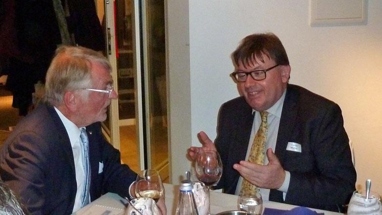 Generalkonsul Vincent Muller und Benno Lensdorf